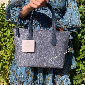 Kate spade Small Joeley Satchel dusk blue bag NWT